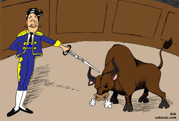 the historic bull market faces off against steel tariffs