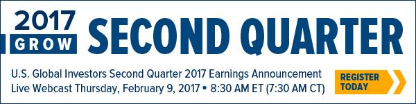 2017 GROW Second Quarter Earnings Announcement Webcast